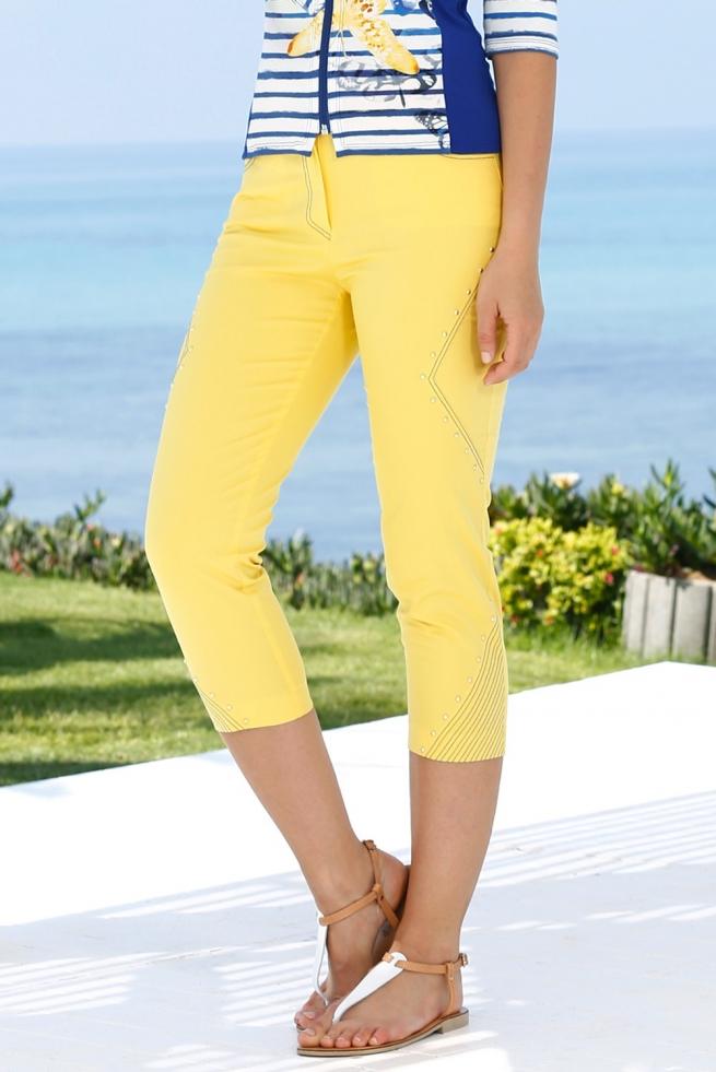 pantacourt-femme-jaune-alysse