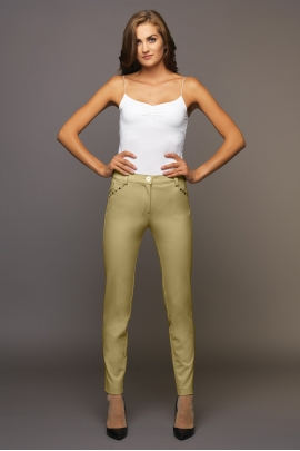PANTALON EMY ÉTÉ MOUTARDE