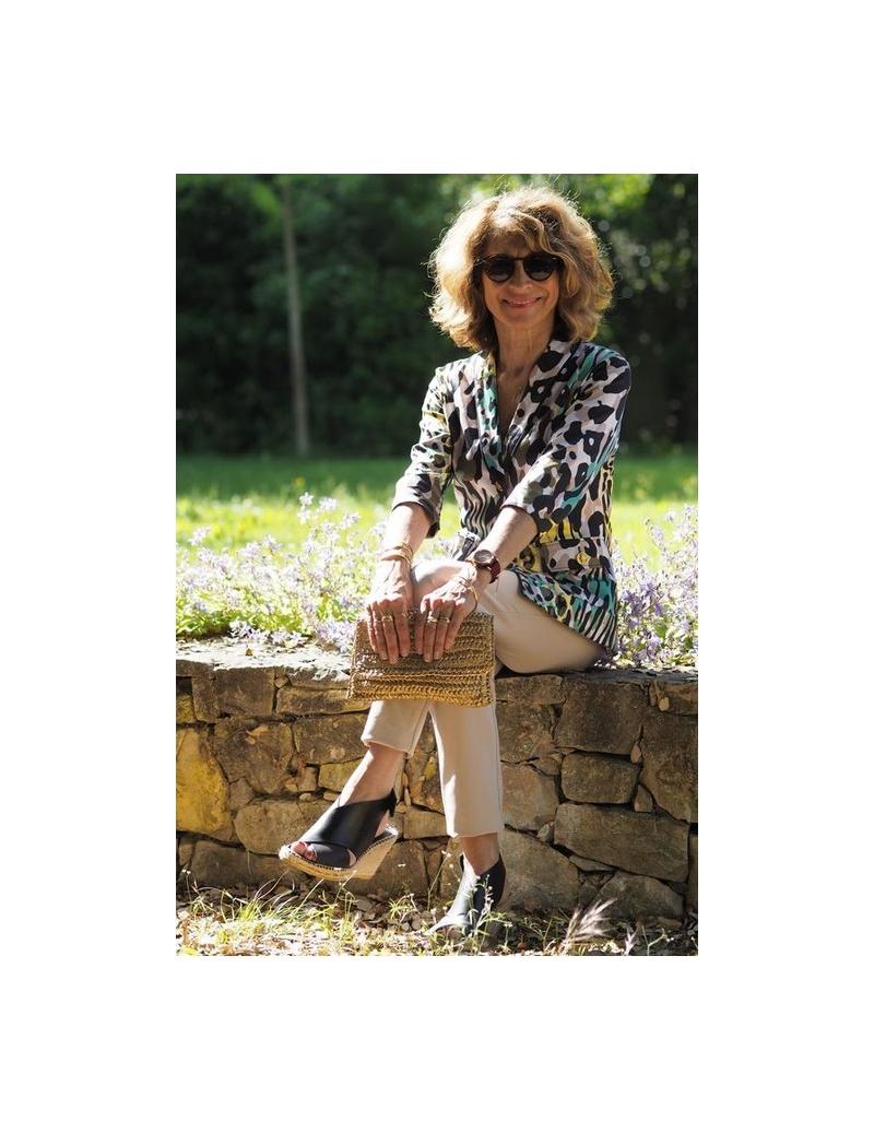 Jany tenue femme originale bleu d 39 azur - Tenue originale femme ...