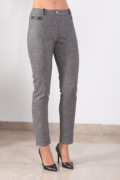 PANTALON QUITO LAINE CHINÉ