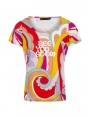 Tshirt psychedelique mode femme style années 70 Tina