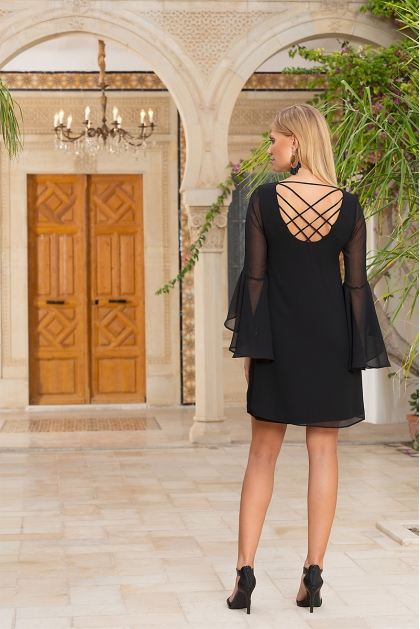 ROBE ESTEL MAGIC NOIR