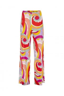 Pantalon ample style année 70 jersey fluide femme Sylvie