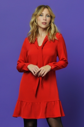 ROBE MARGA ROUGE