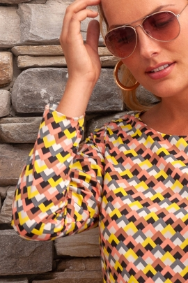 BLOUSE HOLLY ZIGZAG SUMMER DANCE