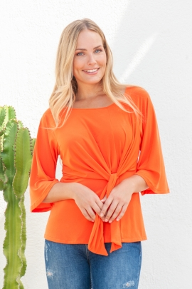 TSHIRT COSMO ORANGE ST BARTH