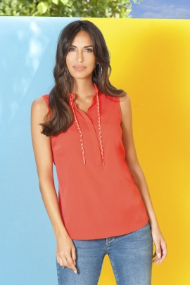 BLOUSE FERGIE GRENADINE ST BARTH