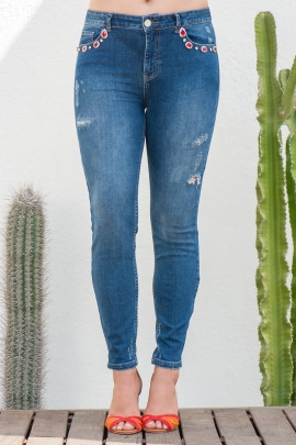 JEANS LUXE ST BARTH