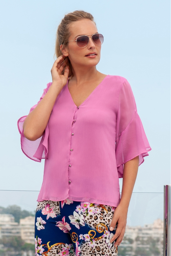 BLOUSE PARIS PIVOINE ST BARTH