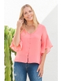 BLOUSE PARIS CORAIL ST BARTH