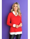 PULL CHEMISE MOLLY ROUGE