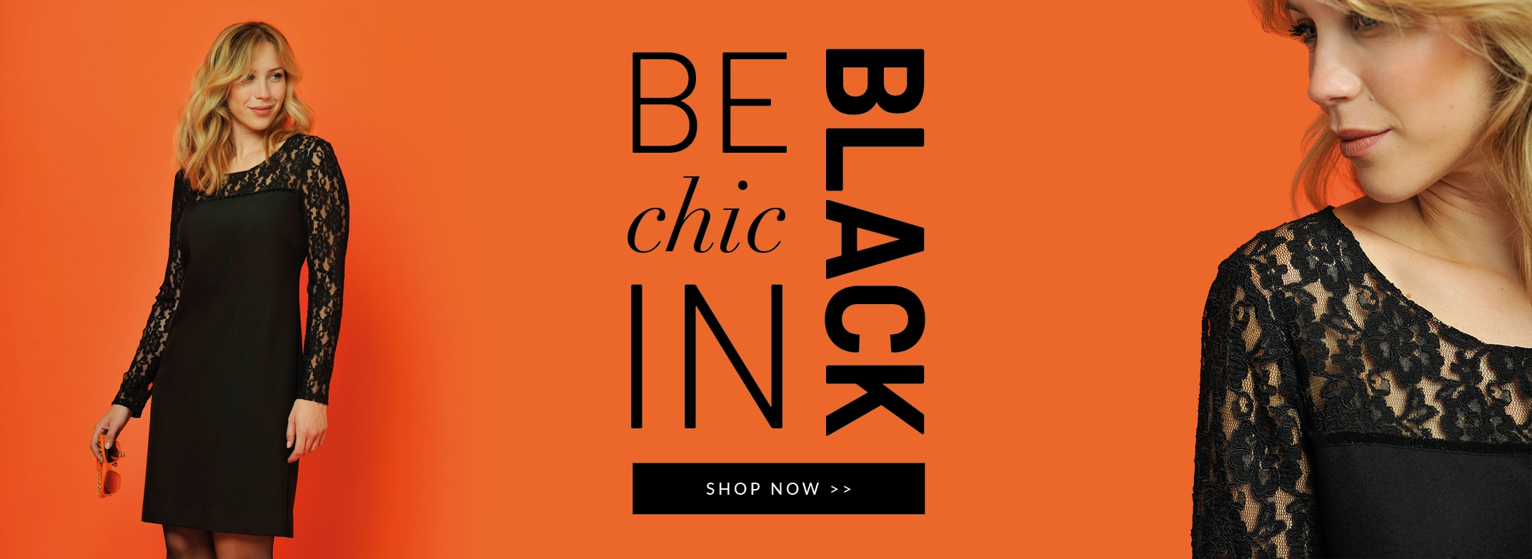 Be chic in black !