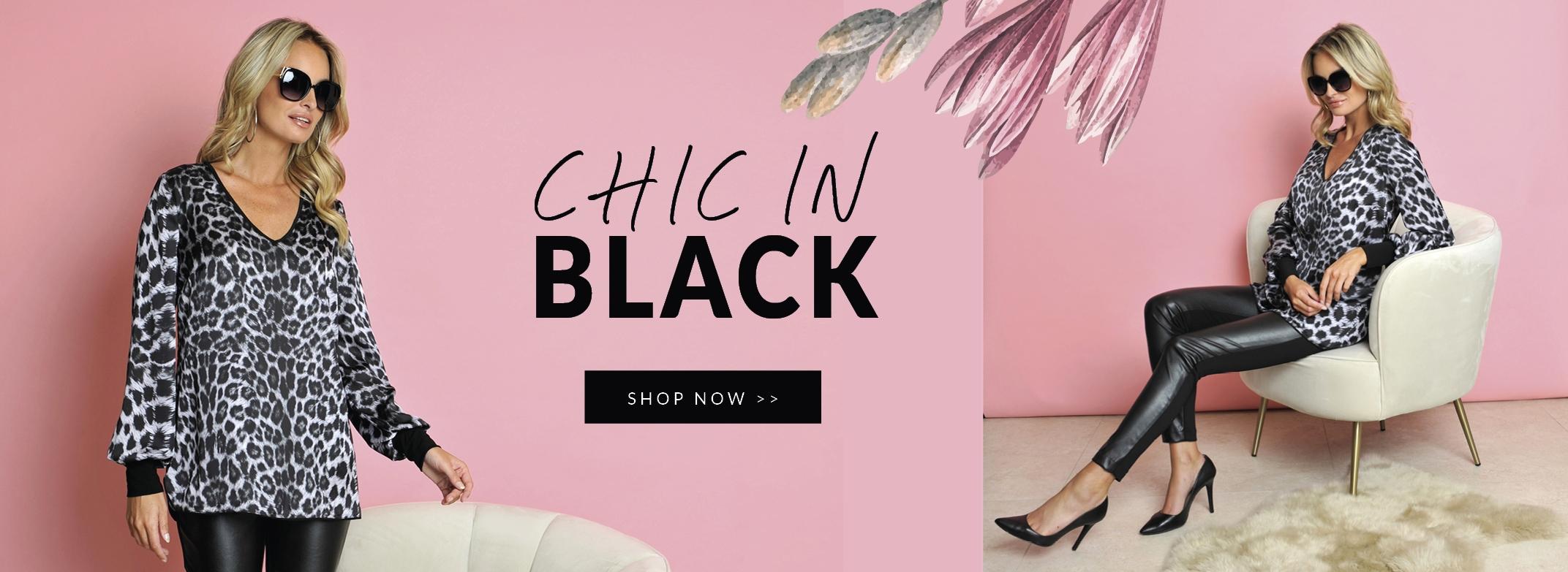 Nouveautés   Chic in Black !