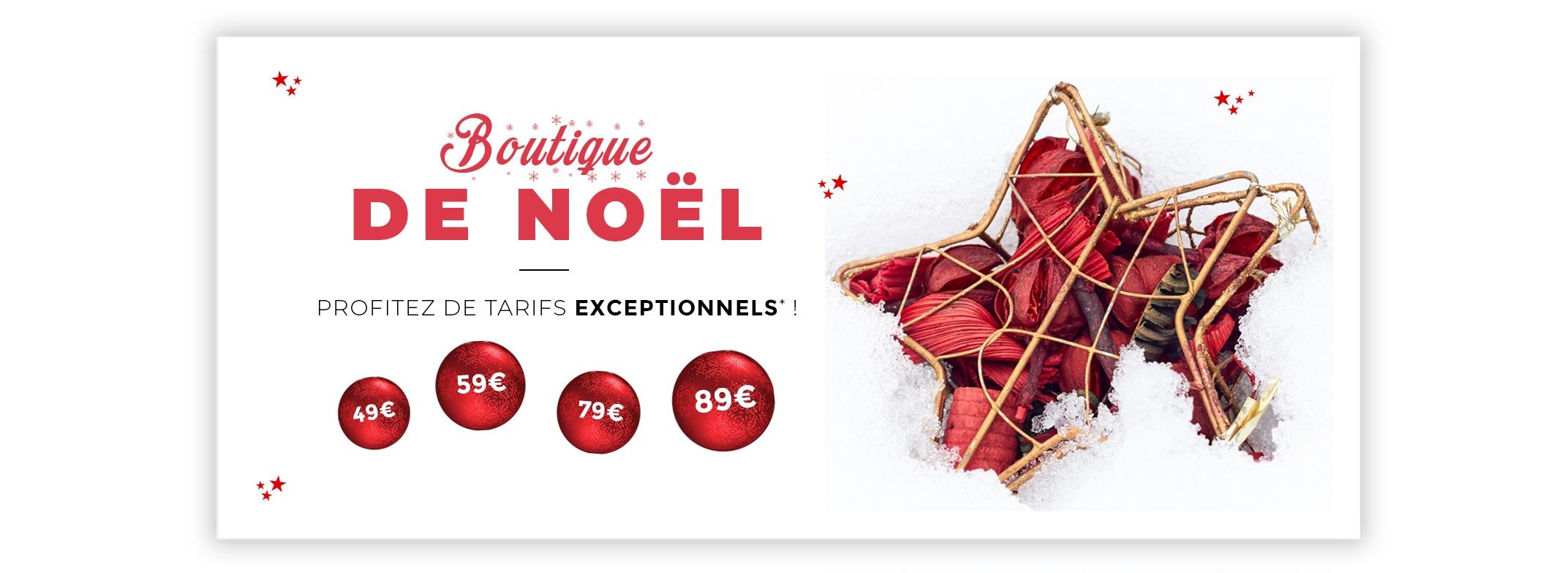 Boutique de Noël 2018