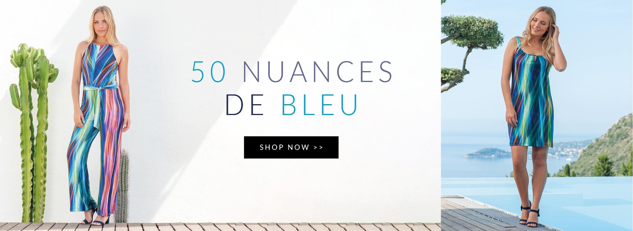 50 nuances de bleu chez BLEU D'AZUR